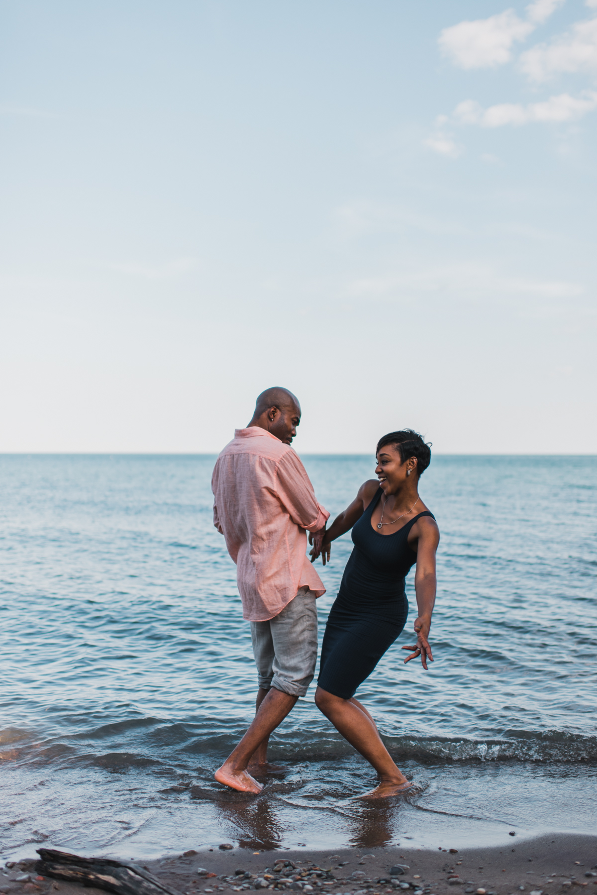 pickering beach engagement