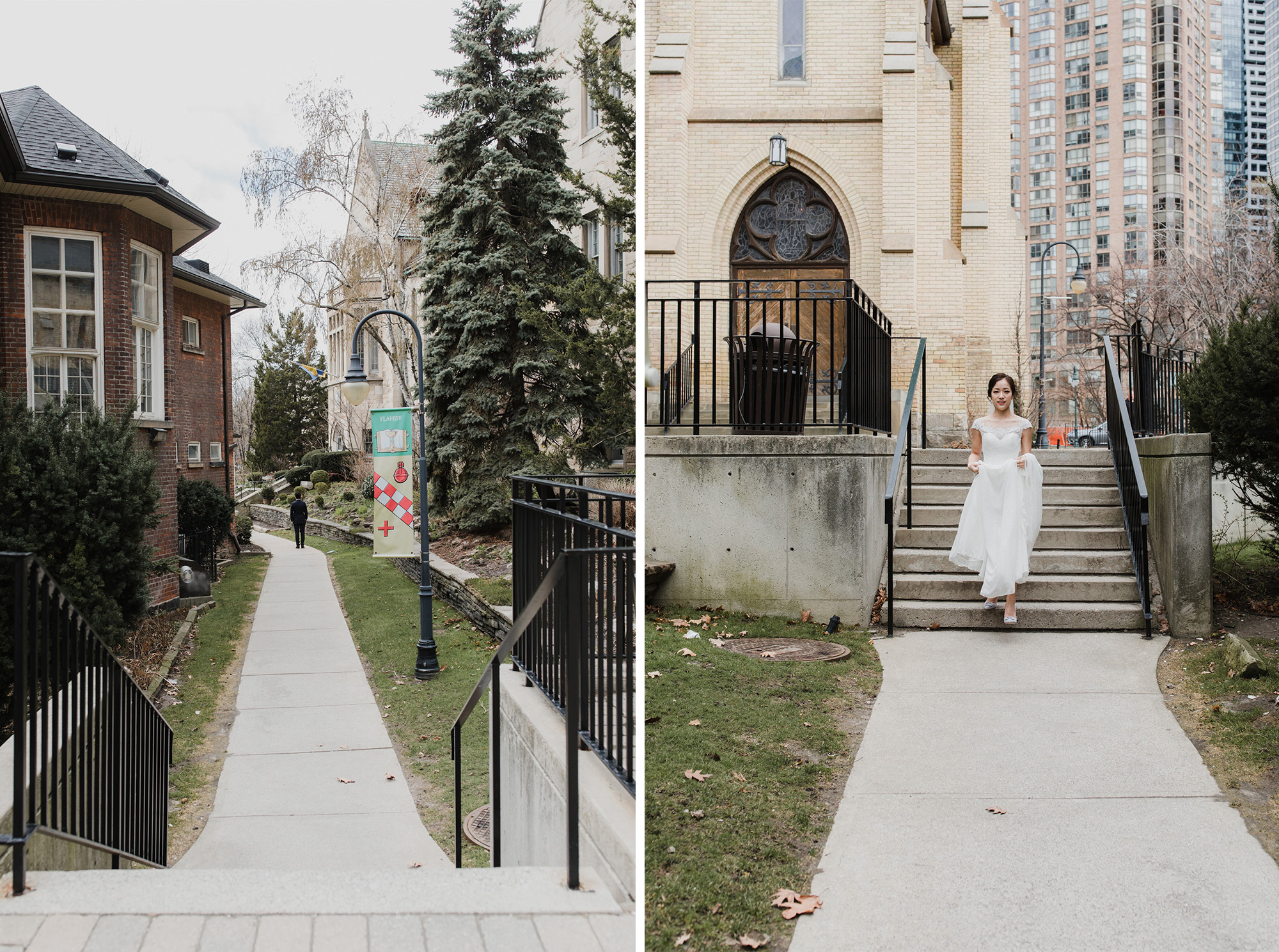 Toronto wedding photographer + First look