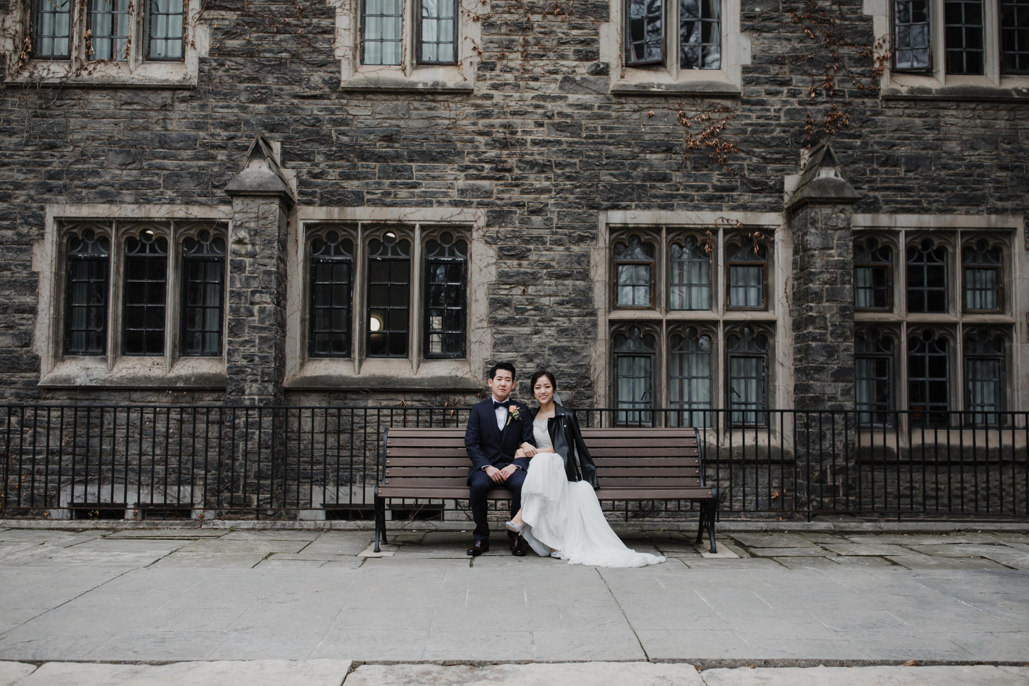Toronto wedding photographer + Couple portrait