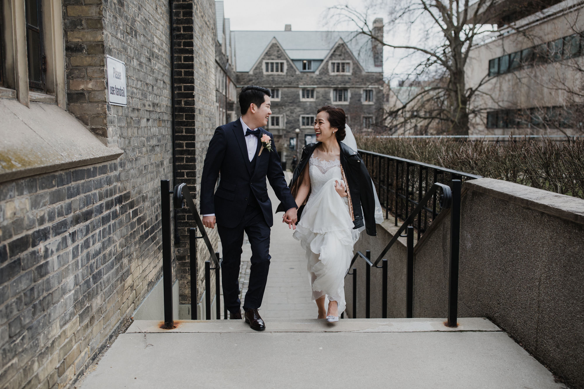 Toronto wedding photographer + Couple portrait + University of Toronto