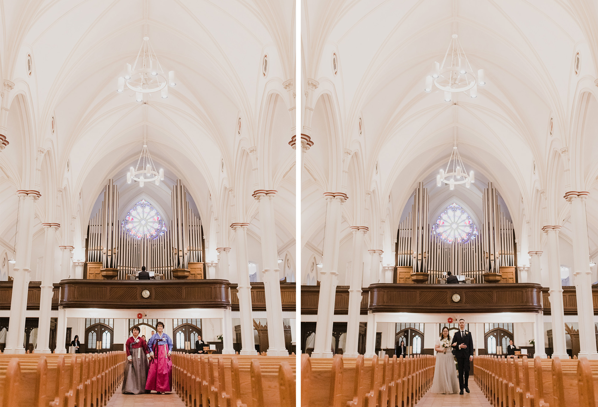 Toronto wedding photographer St. Basil's Wedding