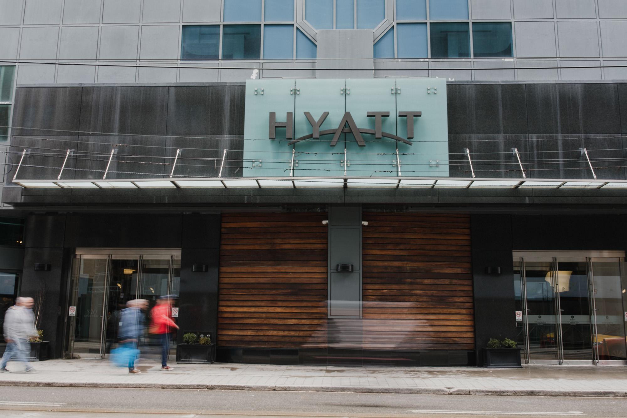 Hyatt Hotel Toronto